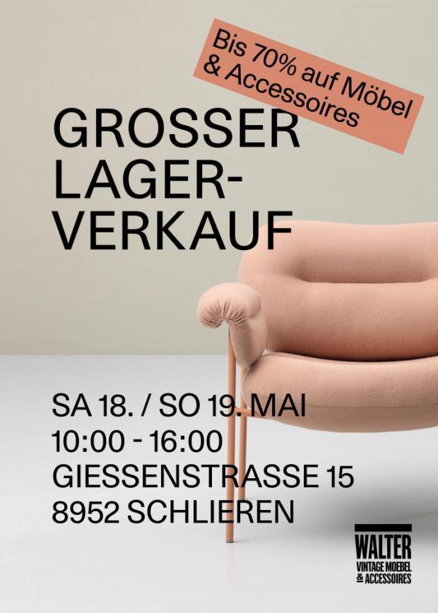 Walters Grosser Lagerverkauf Bis 70 Auf Möbel Und Accessoires