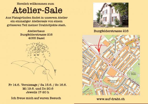 Atelier Sale Vernissagen Ausstellungen In Basel Ron Orp