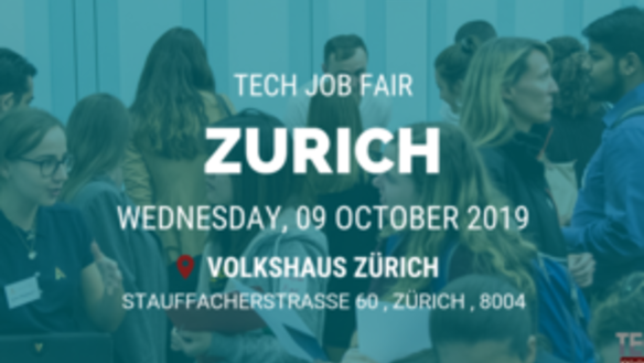 ZURICH TECH JOB FAIR AUTUMN 2019