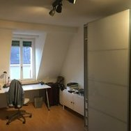 Furnished room in shared flat incl. private rooftop terrace